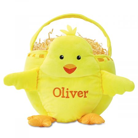 Personalized Chick Easter Basket