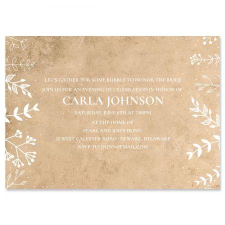 Natural Joy Personalized Invitations