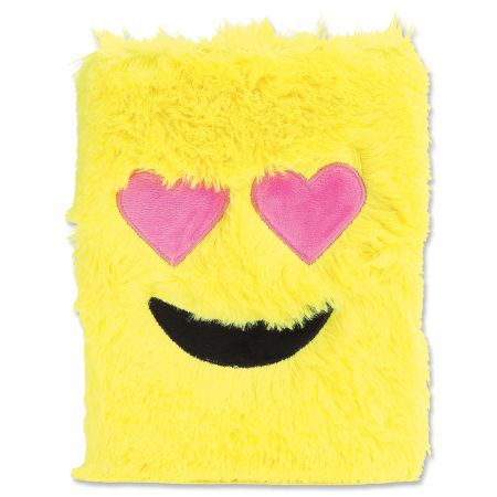 Emoji Heart-Eyes Furry Journal