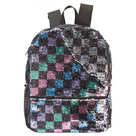 Magic Sequin Checker Backpack