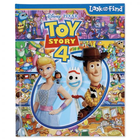 Toy Story 4 Look and Find Book