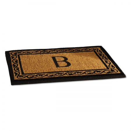 Coco Initial Personalized Doormat