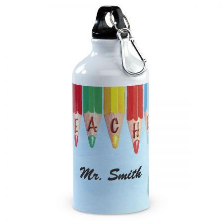 Teacher-Themed Pencils  Water Bottle