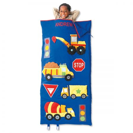 Personalized Trucks Sleeping Bag