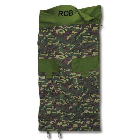 Classic Camouflage Sleeping Bag