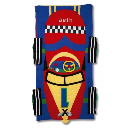 Personalized Race Car Sleeping Bag