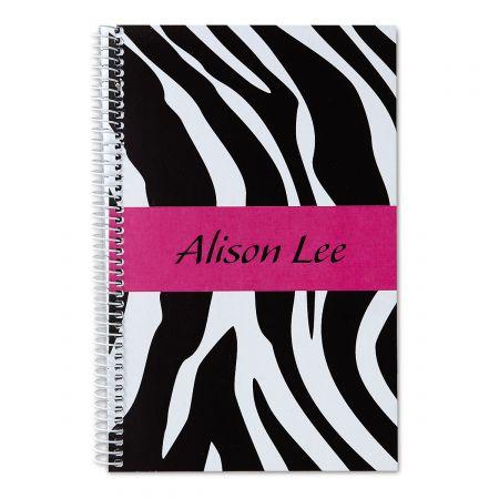 Zebra-Print Notebook-Small-810552