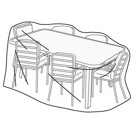 Vented Rectangular Table/Chairs Cover