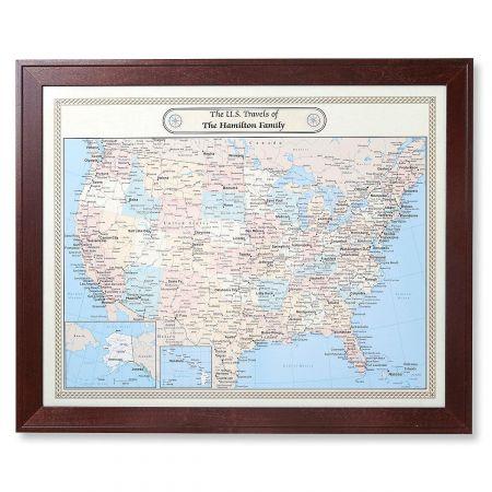 United States and World Customized Maps