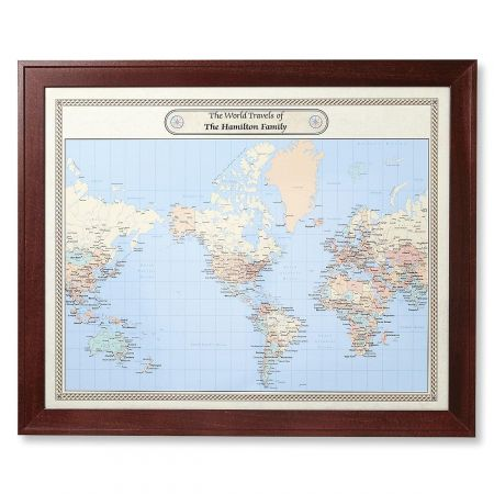 World Customized Map