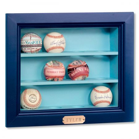 Wooden Baseball Display Case
