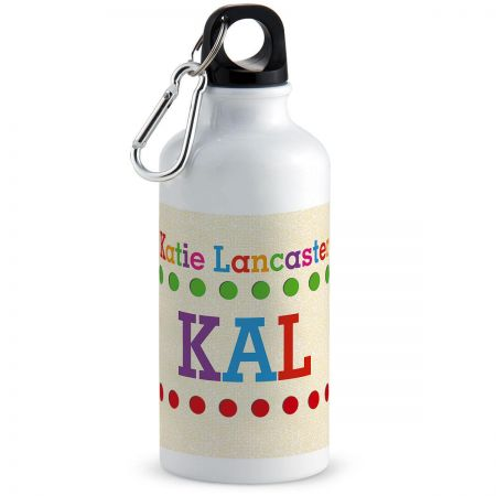 Whimsical Name Water Bottle
