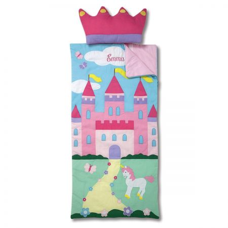 Castle Sleeping Bag with Detachable Pillow