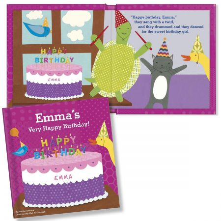 My Very Happy Birthday Personalized Storybook for Girls