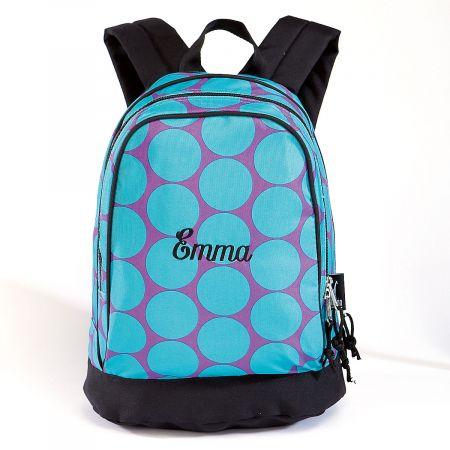 Aqua Dots Personalized Backpack