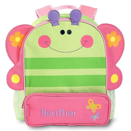 Butterfly 3-D Personalized Backpack by Stephen Joseph®