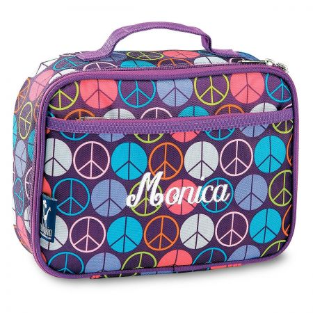 Peace Signs Lunch Bag