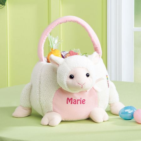 Easter Bunny Personalized Tote-Lamb-813709