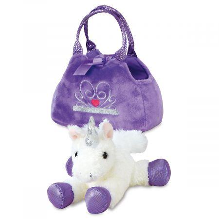 Unicorn Fancy Pals™ Plush Pet & Carrier