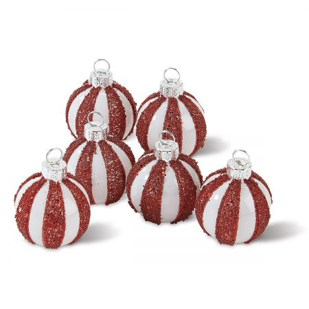 Peppermint Twist Place Card Holders