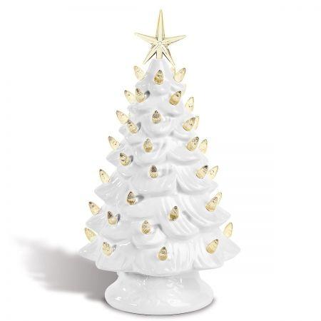 Vintage Light-Up Christmas Tree