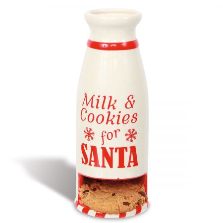 Milk & Cookies  for Santa Bottle