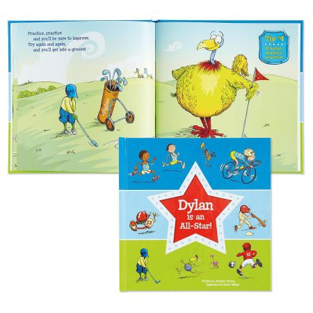 All Star Personalized Storybook