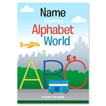 Alphabet World Personalized Storybook