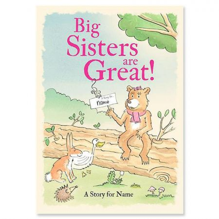 Big Sisters Are Great! Personalized Storybook