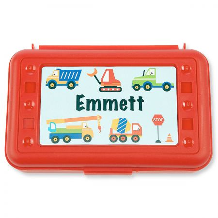 Pencil Boxes-Red Trucks-815863L