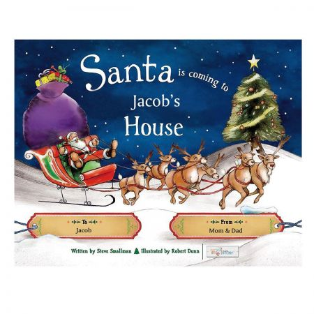 Santa is Coming To My House Personalized Storybook