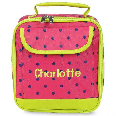 Pink Dot Lunch Bag
