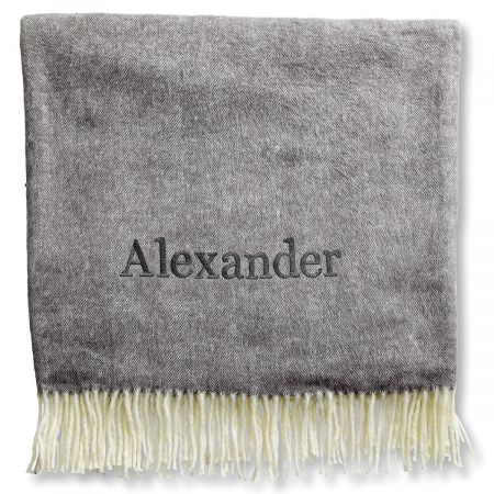 Personalized Blanket with Name-3 Colors