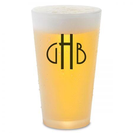 Monogrammed Pint Glass