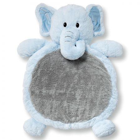 Blue Elephant Floor Cushion