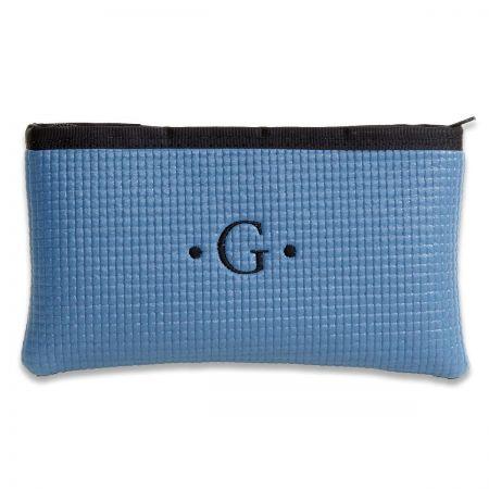 Mini Merle Blue Cosmetic Bag