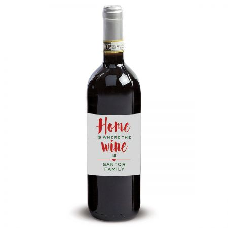 Home Personalized Wine Label