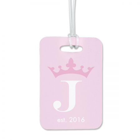 Crown Luggage Tag