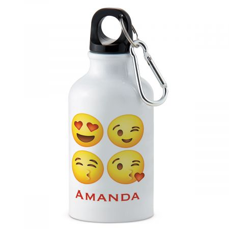Emoji Personalized Water Bottle