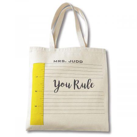 You Rule Teacher Tote