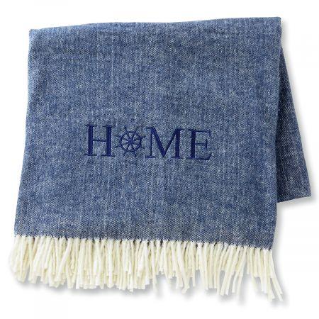 Home Nautical Blanket