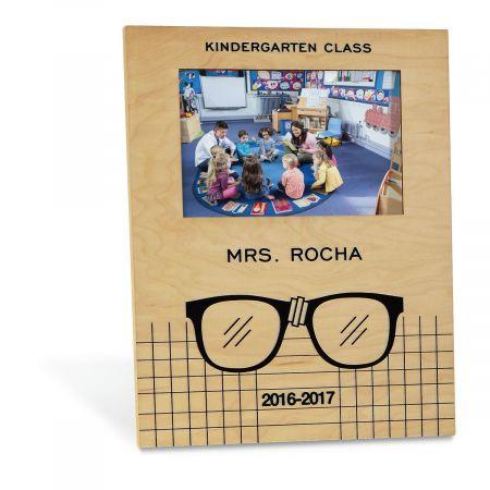 Teacher with Glasses Frame