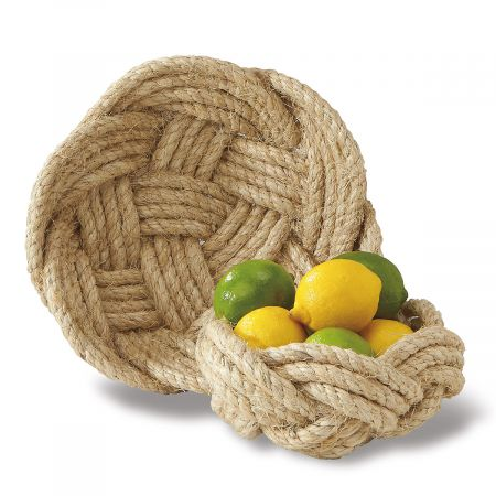 Rope Bowls by Two's Company