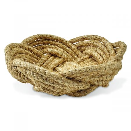 Large Rope Bowl by Two's Company