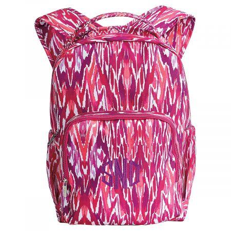 Fuschia Tribal Personalized Backpack