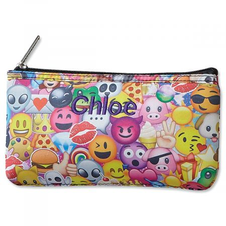 Emoji Collage Neoprene Pencil Case from iscream®