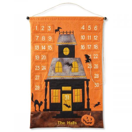 Personalized Halloween Countdown Calendar Banner