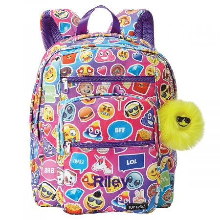 Emojicon Funk Personalized Backpack