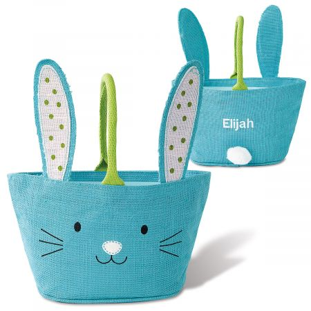 Personalized Jute Easter Baskets