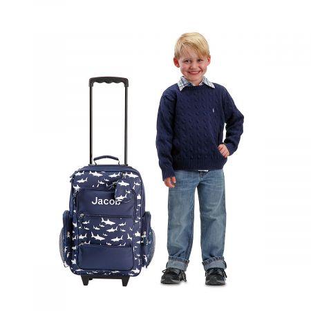 "Navy Shark 21"" Rolling Luggage"